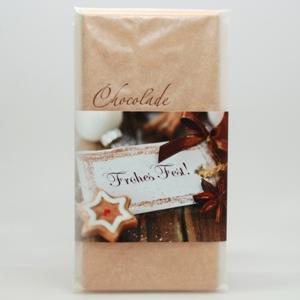 Frohes Fest! Schafmilchschokolade