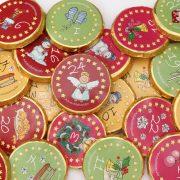 """Chocotaler Adventkalender """"weihnachtliche Motive"""""""