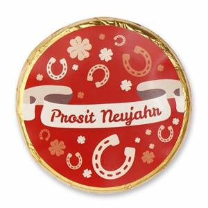 Chocotaler Prosit Neujahr