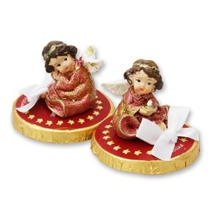Chocotaler dekoriert mit Engel