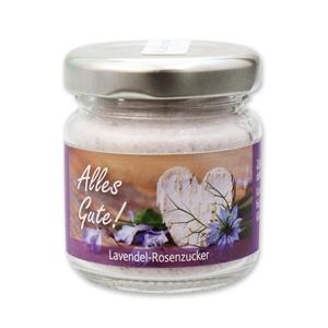 Alles Gute! - Lavendel-Rosenzucker