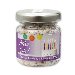 Alles Gute! - Gewürzzubereitung mit Blüten und Salz