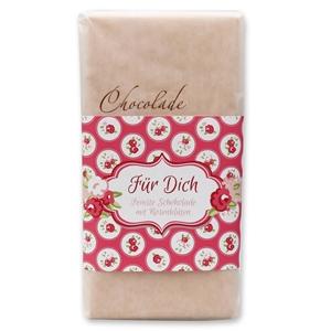 Für Dich - Feinste Schokolade mit Rosenblüten