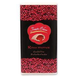 Gefüllte Schokolade Rosa Pfeffer