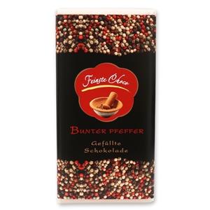 Gefüllte Schokolade Bunter Pfeffer