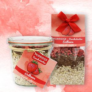 Porridge Durchstarter Erdbeere