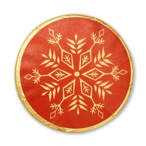 Schneeflocken Motiv 2 - Chocotaler