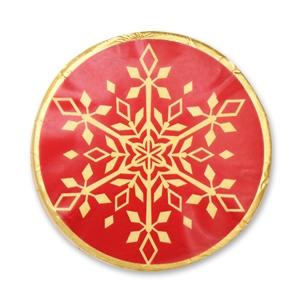 Schneeflocken Motiv 12 - Chocotaler