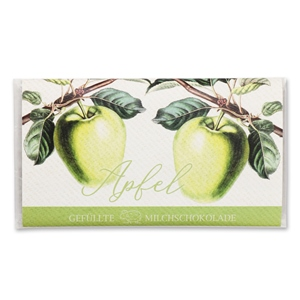 Apfel - Gefüllte Schokolade