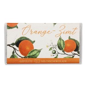 Orange-Zimt - Gefüllte Schokolade