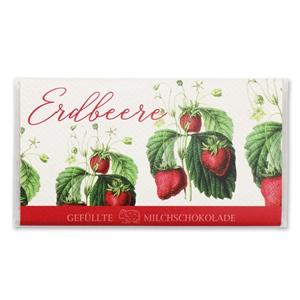 Erdbeere - Gefüllte Schokolade