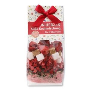 Von Herzen - Süße Kochmischung für Erdbeersaft