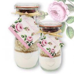 Rosenblüten - Cookie Backmischung