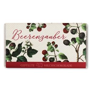 Beerenzauber - Gefüllte Schokolade