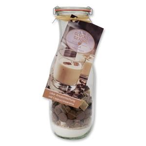 Likör Ansatzmischung mit Cappuccinoaroma - Glücksgefühl