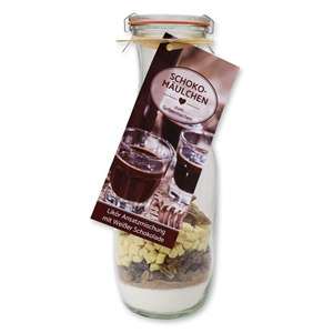 Likör Ansatzmischung mit Weißer Schokolade - Schokomäulchen