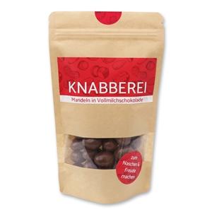 Knabberei - Mandeln in Vollmilchschokolade