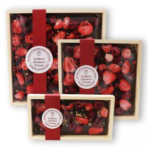 Ein Nascherlebnis - Erdbeer Himbeer Traum