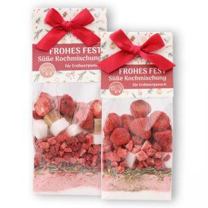 Frohes Fest - Süße Kochmischung für Erdbeerpunsch