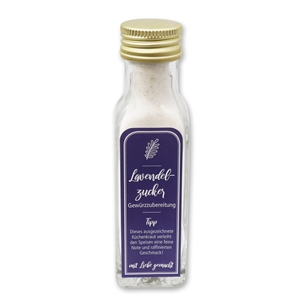 Gewürzzubereitung Lavendelzucker