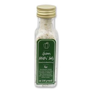 """Gewürzzubereitung """"Grüner Pfeffer"""" Salz"""