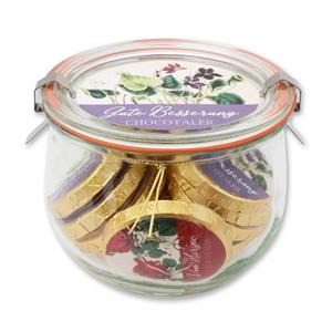 Chocotaler - Botanik Serie sortiert