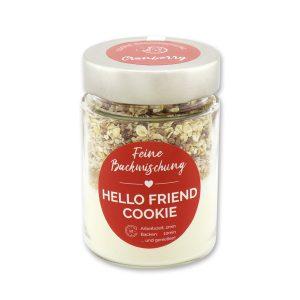 Hello friend - Cookie Backmischung Cranberry