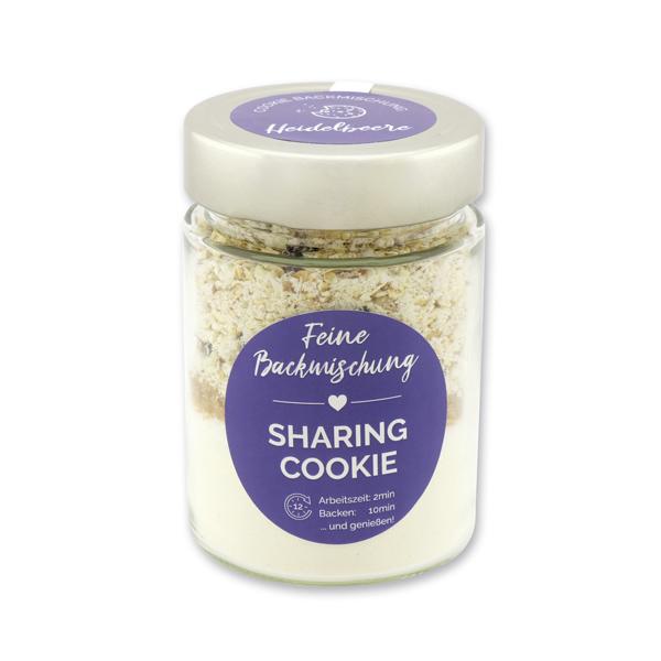 Sharing - Cookie Backmischung Heidelbeere