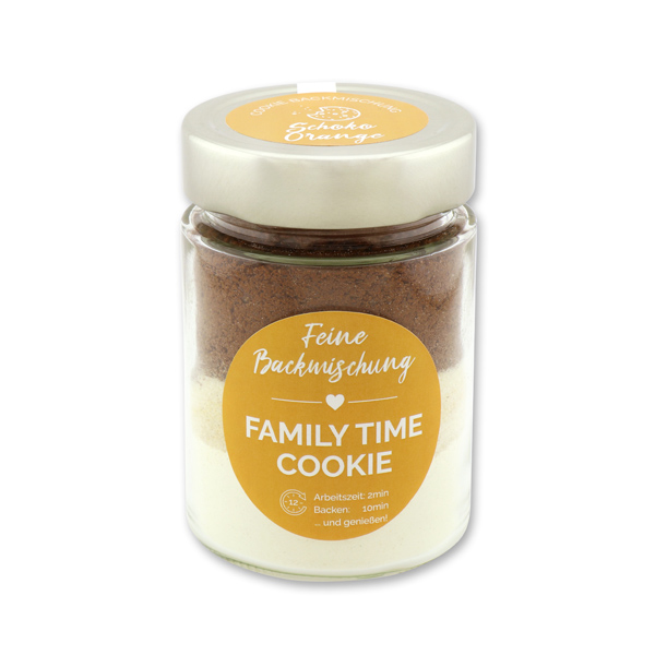 Family time - Cookie Backmischung Schoko-Orange