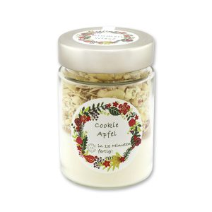 Blumenwiese - Cookie Backmischung Apfel