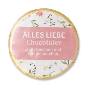 Alles Liebe - Chocotaler