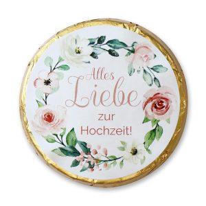 Chocotaler, Alles Liebe zur Hochzeit
