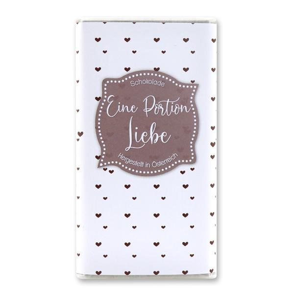 Eine Portion Liebe - 85% Zartbitterschokolade