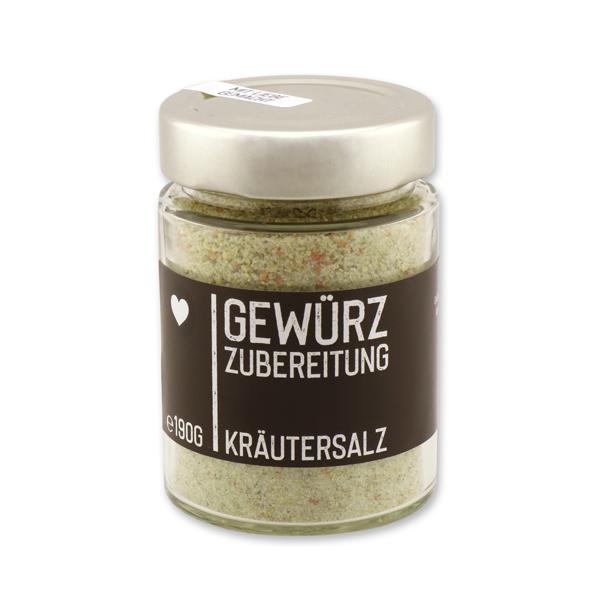 Black Edition - Kräutersalz im Glas