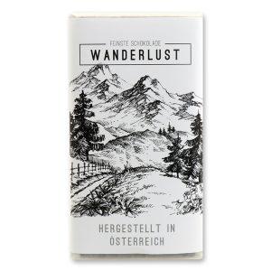 Wanderlust - Zartbitterschokolade