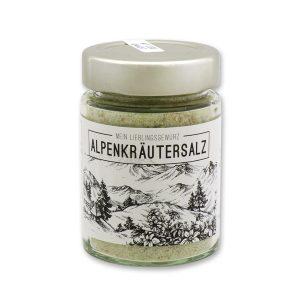 Alpenkräutersalz - Gewürzzubereitung Kräutersalz