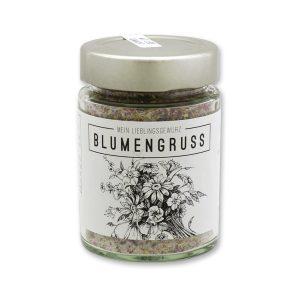 Blumengruss - Gewürzzubereitung mit Blüten & Kräuter